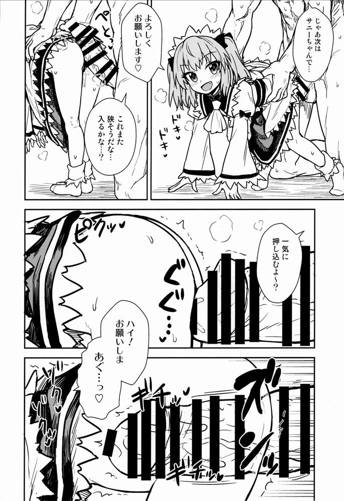 【同人】三妖精とお勉強会【東方】