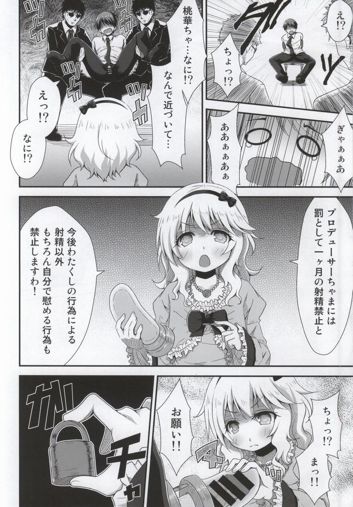 【同人】お嬢ちゃまの射精管理【アイドルマスター】