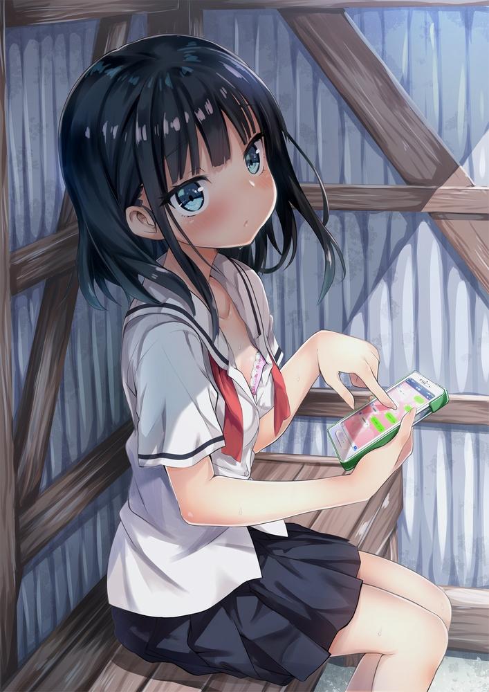 【ランダム画像】ランダムな二次エロ画像(女子高生)☆ part12