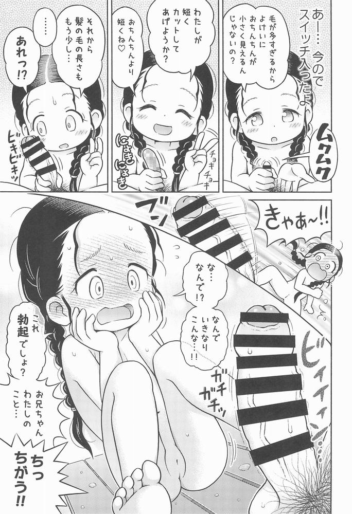 【同人】妹が風呂場で思いっきりいじくり回してきた。