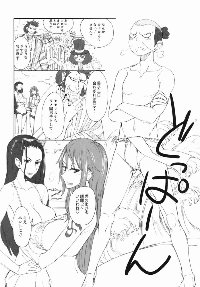 【同人】Grandline Chronicle 3 モモ☆もも★【ワンピース】