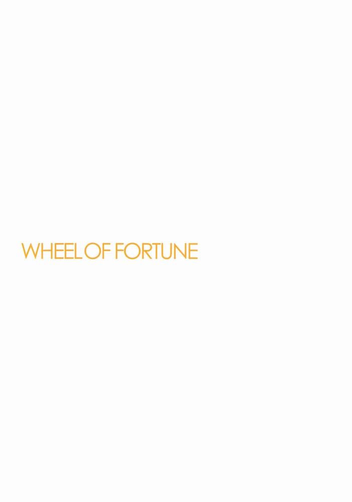 【同人】WHEEL OF FORTUNE【アイドルマスター】